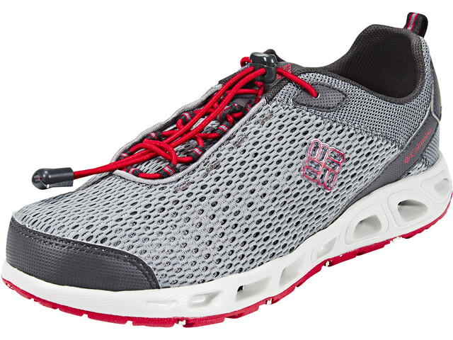 Columbia Drainmaker III Chaussures Enfant, grey ash/mountain red
